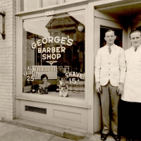 A2004 002 1103 Georges Barber Shop 2072 Nw Glisan 1936