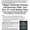 7 Biggest Marketing Mistakes Entrepreneurs Make And How To Avoid Making Them