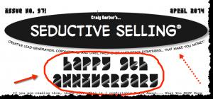 Seductive Selling Newsletter