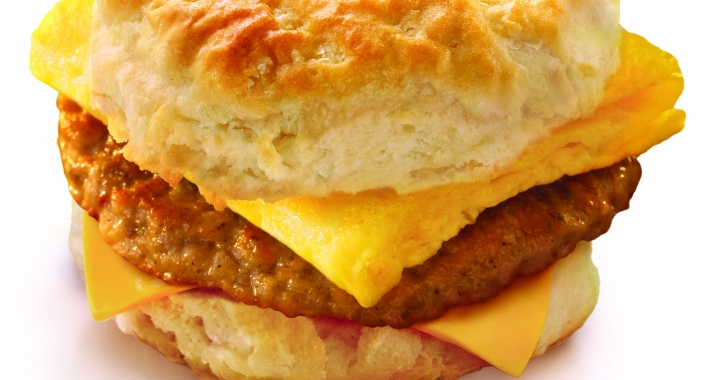 Biscuit Sausage And Egg  W  Cheese1 HR