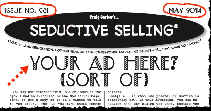 Sedictive Selling May 2014